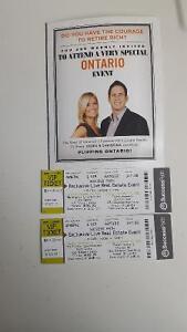 2 V.I.P tickets real estate show