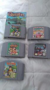 Selling some n64 games