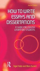 dissertations essays