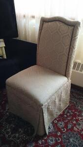 4 bombay dinning chairs
