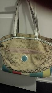 coach diaper bag- in good condition
