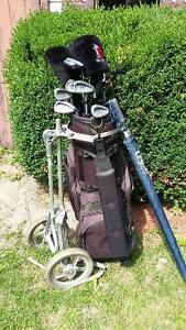 Bâtons de golf pour hommes (droitier, moyen)