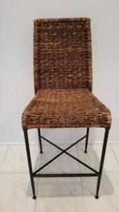 4 Kitchen chairs - wicker Mermaid Waters Gold Coast City Preview