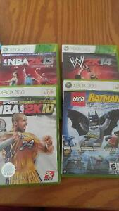 Multiple games available xbox 360