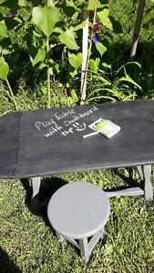 Kids Chalkboard Activity Table
