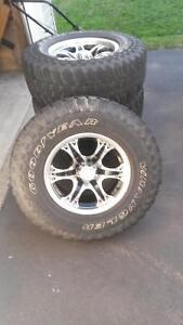 Set of 4Tires and Rims