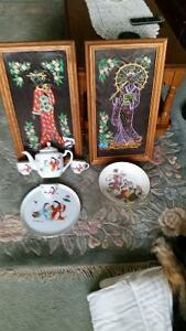Vintage Chinese/Japanese Collectables
