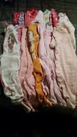 large lot of baby girls clothes