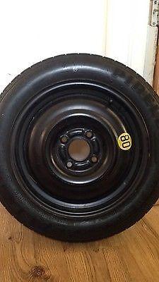 "*** Ford Focus MK1 1998-2004 15"" Space Saver Wheel & Tyre (125/80/15)"