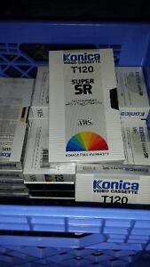 free blank vhs tapes