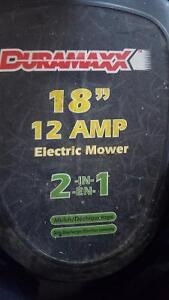 Duramaxx 12-Amp 18-in 2-in-1 Bagless Corded Electric Push Mower