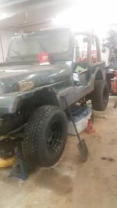 1994 Jeep Wrangler Coupe (2 door) project
