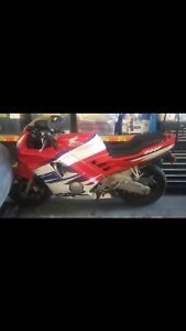 Honda CBR600F 1993 Highett Bayside Area Preview