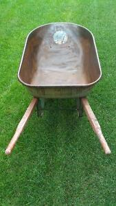 Wheelbarrow Steel Tray Kitchener / Waterloo Kitchener Area image 1