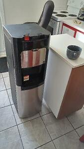 water dispenser-cold& hot water, stainless steel- like new
