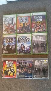 JEUX GUITAR HERO / ROCKBAND XBOX360 / PS3