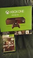500gb xbox one never used & call of duty