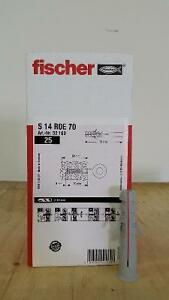 Fischer S14 Roe 70 Concrete Wall Plug Anchor 70mm