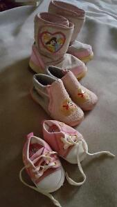 Baby girls' footwear