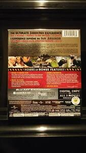 Jurassic Park Ultimate Trilogy blu-ray set London Ontario image 2