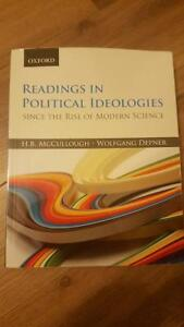 Readings in Political Ideologies Since the Rise of Modern Scienc