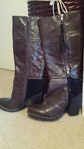 New - Never Worn Women's Genuine Leather Boots size 8