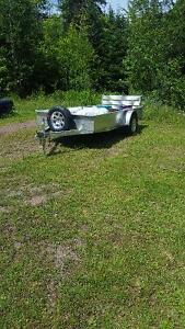 "2016 Stronghold aluminum 66""x12' trailer"