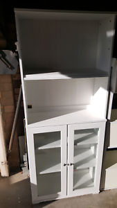 2 display cupboards with shelfs and 1 centre table Belfield Canterbury Area Preview