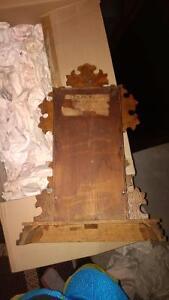 Antique E. Ingraham & Co. ~1880 KITCHEN CLOCK GINGERBREAD MANTLE Belleville Belleville Area image 4