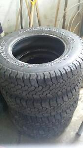 2- LT 225/75/16 All Country Radials