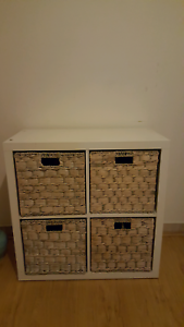 White storage cabinet Bossley Park Fairfield Area Preview