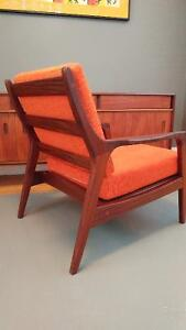 R.HUBER TEAK LOW BACK CHAIR