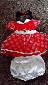 Disney baby Minnie mouse dress up0-3