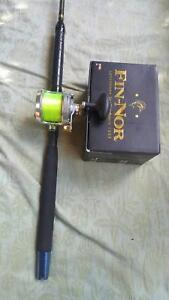 SABRE CUSTOM 660 HONEYBLEND ROD  AND MARQUESA MA30 REEL Lower Mitcham Mitcham Area Preview