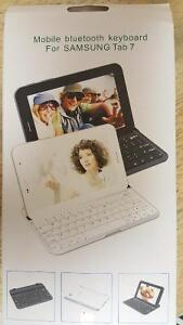 Bluetooth keyboard for Samsung Tablet 7