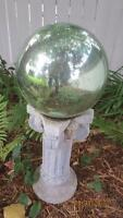 Gazing Ball and Stand