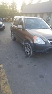 2003 Honda CR-V AWD for parts. Parting out 2002 - 2004