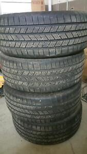 4 GOODYEAR EAGLE LS2 RUN ON FLAT TIRES