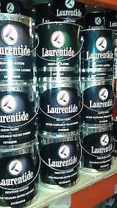 Peinture alkyde interieur Laurentide / Titanium / Neufs !!!