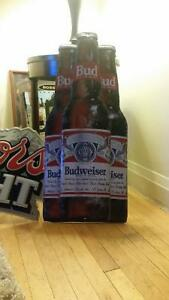 "Collectable Budwiser Beer sign 16""by 32 "" $ 100"