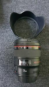 Canon EF 24mm f1.4 L II USM Hobart CBD Hobart City Preview