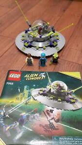 Lego Alien Abduction set  (missing pieces).