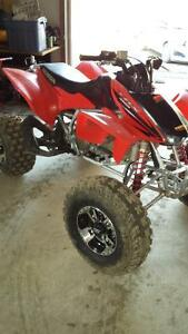 Honda trx 450 r for trade for boat 4x4 atv trailer