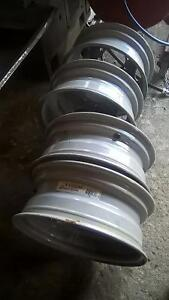 set of four ford dually rims