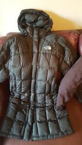 2 winter coats North Face & Columbia (xtra small & small)