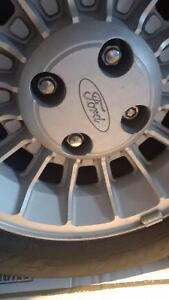Ford Mustang Wheels - Set of 4 Rims & Tires..4x108 Bolt Pattern