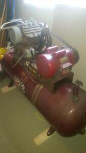 2 stage 5hp Ingersoll Rand compressor