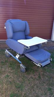 Regency Invalid Care Mobile Chair with Eating/Activity Tray