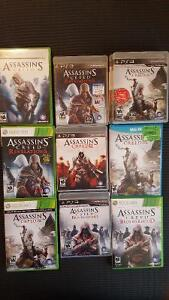 Assassin's Creed Games for PS3/XBOX360/WiiU for Cheap