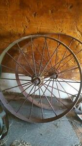 antique wagon wheels Kawartha Lakes Peterborough Area image 1